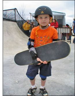 Kid Skateboarder