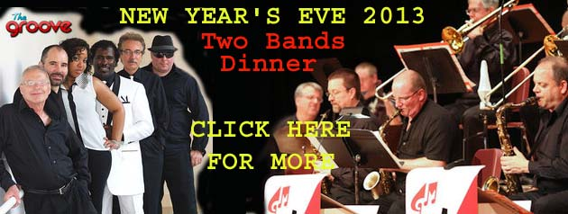 New Year's Eve Dance & Party, two bands & dinner