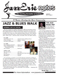 JazzErie Notes June 2011