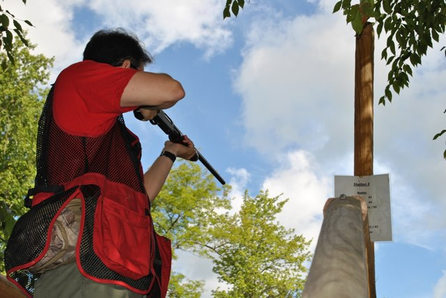 Sporting Clays for Scouting
