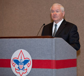 Dr. Robert Gates Named BSA's 35th President