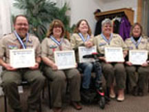 French Creek Council Recognition Dinner