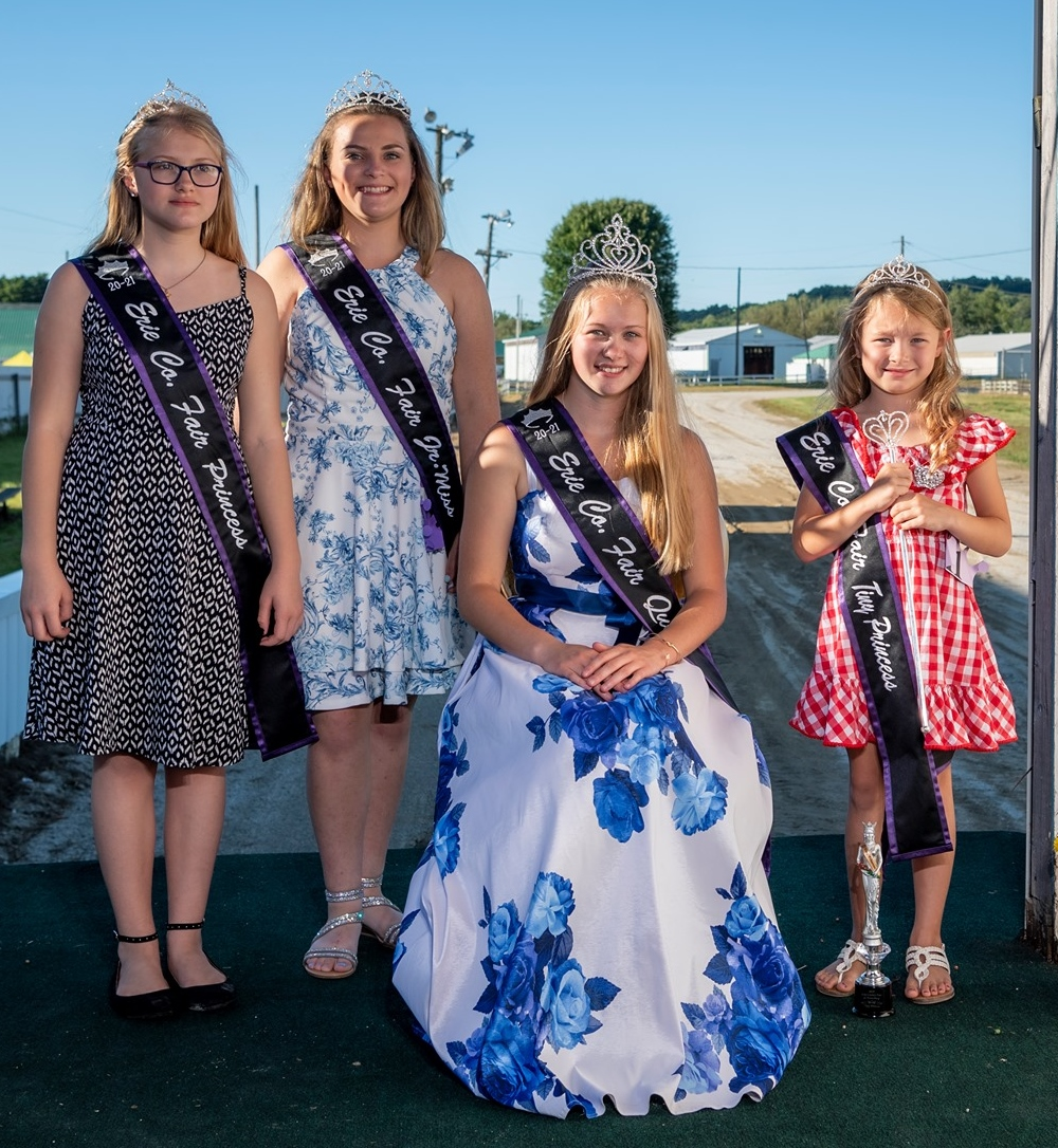 2021 Erie County Fair at Wattsburg Queen, Jr. Miss, Princess & Tiny Princess Contest
