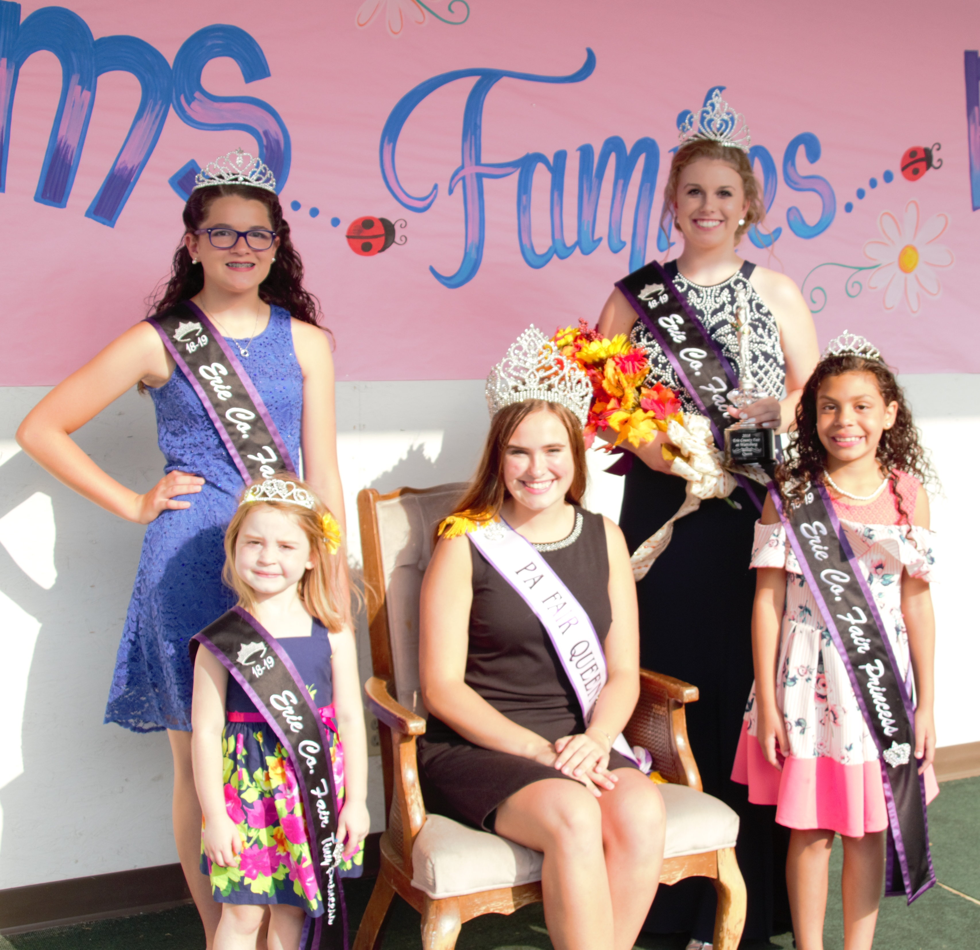 2019 Erie County Fair at Wattsburg Queen, Jr. Miss, Princess & Tiny Princess Contest
